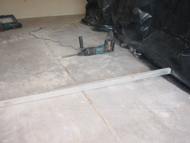 Concrete demo leveling