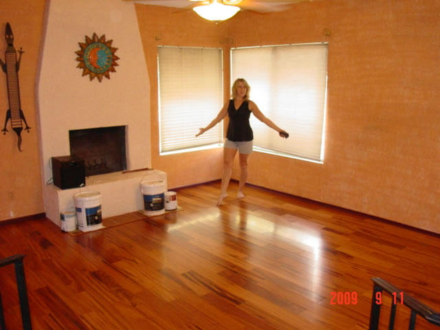 Hardwood Floor Tarkett Tigerwood Engineered